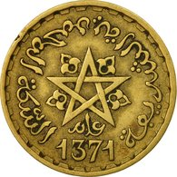 Monnaie, Maroc, Mohammed V, 20 Francs, 1951, Paris, TB+, Aluminum-Bronze, KM:50 - Maroc