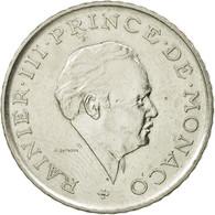 Monnaie, Monaco, Rainier III, 2 Francs, 1981, TTB, Nickel, Gadoury:MC151, KM:157 - 1960-2001 Nouveaux Francs