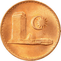 Monnaie, Malaysie, Sen, 1987, TTB, Copper Clad Steel, KM:1a - Malaysie