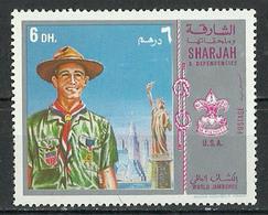 United Arab Emirates 1970 United States Statue Of Liberty Manhattan Bridge - World Scout Jamboree Asagiri Heights MNH - Pfadfinder-Bewegung