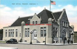 282015-Nebraska, Fremont, Post Office Building, EC Kropp No 23050 - Fremont