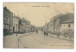 CPA 54 BACCARAT RUE DE FROUARD - Baccarat