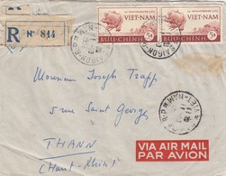 VIET-NAM REGISTERED COVER. VIA AIR MAIL. 11 10 52. SAIGON TO FRANCE - Vietnam