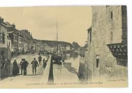CPA 29 LANDERNEAU LE QUAI DE CORNOUAILLE - Landerneau