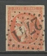 BORDEAUX N° 48 OBL TB / Signé CALVES / - 1870 Emission De Bordeaux