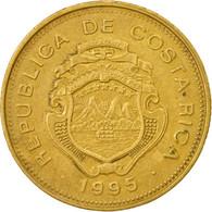 Monnaie, Costa Rica, 25 Colones, 1995, TTB, Brass Plated Steel, KM:229 - Costa Rica