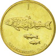Monnaie, Slovénie, Tolar, 1992, TTB, Nickel-brass, KM:4 - Slovénie