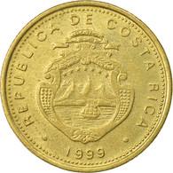 Monnaie, Costa Rica, 10 Colones, 1999, TTB, Laiton, KM:228a.1 - Costa Rica