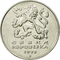 Monnaie, République Tchèque, 5 Korun, 1993, TTB, Nickel Plated Steel, KM:8 - Czechoslovakia