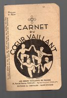 (scoutisme) Carnet Du COEUR VAILLANT 1941 (PPP15300) - Libri, Riviste, Fumetti