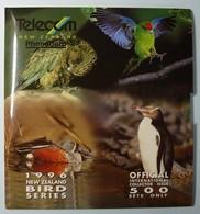 NEW ZEALAND - GPT Set Of 5 - 1996 Bird Series - 500ex - NZ-CP-47A - MINT In Folder - International Collector Pack - New Zealand