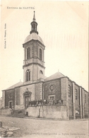 CPA Chantenay Sur Loire Eglise Saint Martin 44 Loire Atlantique St - Francia