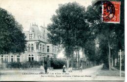 N°65268 -cpa Châlons Sur Marne -les Allées St Jean- - Châlons-sur-Marne