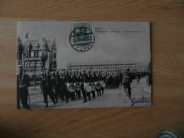 Metz 1908 Defile Infanterie Allemande Occupation Lorraine - Metz