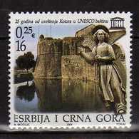 Yugoslavia.Serbia & Montenegro 2004 UNESCO World Heritage. MNH - 1992-2003 Federal Republic Of Yugoslavia