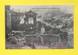 CPA CHARLEROI - Bataille Dans Le Cimetière De Charleroi ( En 1915 ) - Charleroi