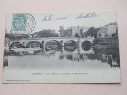 Mézières - Pont D'Arches & Plateau De Bertaucourt ( Charpentier ) Anno 1904 ( See / Voir Photo ) ! - Charleville