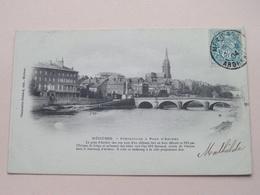 Mézières - Préfecture & Pont D'Arches ( Charpentier ) Anno 1904 ( See / Voir Photo ) ! - Charleville