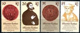 DDR - Mi 2754 / 2757 - ** Postfrisch (D) - Martin Luther - [6] Oost-Duitsland