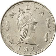 Monnaie, Malte, 2 Cents, 1977, British Royal Mint, TTB+, Copper-nickel, KM:9 - Malte