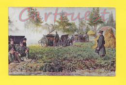 CPA Artillerie Belge En Action - WW1 - Belgique