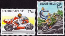 Belgium 2819/20** Sport Motos  MNH - Belgique