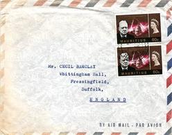 Mauritius 1966 Port Louis Winston Churchill Cover - Mauritius (1968-...)