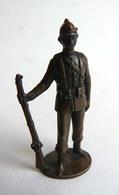 FIGURINE KINDER METAL SOLDAT ORDINAIR COLONIAL Bruni KRIEGER SPANIER - Metal Figurines
