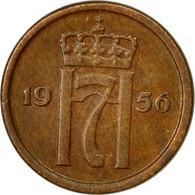 Monnaie, Norvège, Haakon VII, Ore, 1956, TTB, Bronze, KM:398 - Norvège