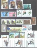 BELGIUM - 1989 - MNH/***LUXE -  JAAR ANNEE YEAR 1989 COMPLETE WITH BLOC BOOKLET PAPER - QUOTATION 64.40 EUR - Lot 17869 - Belgique