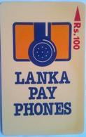 16SRLA  Lanka Pay Phones Rs 100 - Sri Lanka (Ceylon)