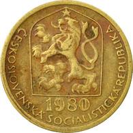 Monnaie, Tchécoslovaquie, 20 Haleru, 1980, TB+, Nickel-brass, KM:74 - Czechoslovakia