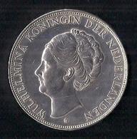 NEDERLAND (PAYS-BAS) 2 1/2 GULDEN - WILHELMINA - 1938 - ARGENT - 2 1/2 Gulden