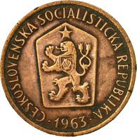 Monnaie, Tchécoslovaquie, 50 Haleru, 1963, TB+, Bronze, KM:55.1 - Czechoslovakia