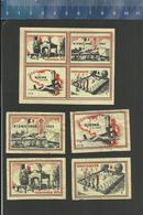 OOSTAKKER RIEME (serie 8) MEMORIAL PLACE EXECUTIONS RESISTANCE WW II EXéCUTION RéSISTANCE EXECUTIE VERZETSTRIJDERS - Boites D'allumettes - Etiquettes