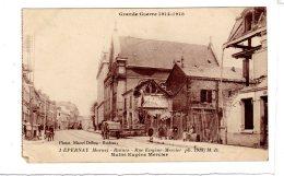 1. Epernay. Ruines. Rue Eugène Mercier. - Epernay