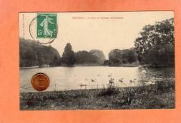 CPA * * FREVENT * * Le Parc Du Château De Cercamp - Altri Comuni
