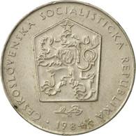 Monnaie, Tchécoslovaquie, 2 Koruny, 1984, TTB, Copper-nickel, KM:75 - Czechoslovakia