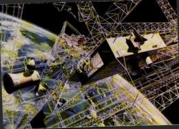 ASTRONOMIE ,  Centrale à énergie Solaire Construite Par La Navette Spatiale - Astronomia