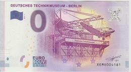 Billet Touristique 0 Euro Souvenir Allemagne Deutschs Technikmuseum - Berlin 2017-1 N°XEMV004181 - Privéproeven
