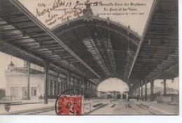 LYON  5759  NOUVELLE GARE  DES BROTTEAUX  LE QUAI ET LES VOIES - Lyon