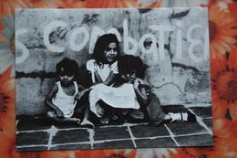 Nicaragua Libre - Little Children / Little Girl / Fille - Old Postcard - Nicaragua