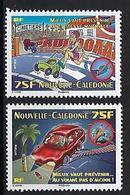"""Nle-Caledonie YT 1113 & 1114 """" Sécurité Routière """" 2010 Neuf** - New Caledonia"""
