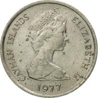 Monnaie, Îles Caïmans, Elizabeth II, 10 Cents, 1977, TTB, Copper-nickel, KM:3 - Iles Caïmans