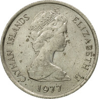 Monnaie, Îles Caïmans, Elizabeth II, 10 Cents, 1977, TTB, Copper-nickel, KM:3 - Cayman Islands