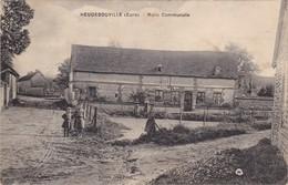 HEUDEBOUVILLE - Mare Communale - Enfants - Sonstige Gemeinden