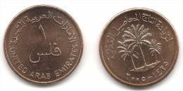 UAE United Arab Emirates 2005 UNC Fils Qty.18  F.A.O KM#  1 Date Palms - United Arab Emirates
