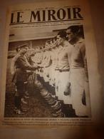1919 LE MIROIR:Twickenham-Rugby;Aviateur Jules Védrines;Holyead;Naufrage U-118 à Hastings;Panama;Légion à Luxembourg;etc - Revues & Journaux
