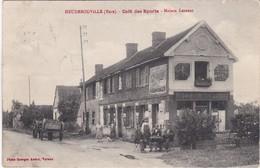 HEUDEBOUVILLE - Café Des Sports - Maison Lesueur - Clients En Terrasse - Sonstige Gemeinden