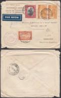 Congo Belge 1943 - Lettre Par Avion De Leopoldville -Kalina Vers Buenos Aires-Argentine  Ref. (DD)  DC-MV-012 - Belgisch-Kongo